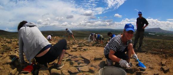 Студенты СФУ открыли городище неизвестного племени древнеенисейцев