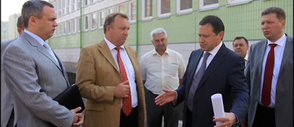 Школы Красноярска готовятся к новому учебному году.