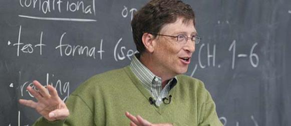 11 жизненных правил от Билла Гейтса для старшеклассников
