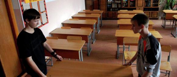 МЧС проверяет готовность школ к новому учебному году.