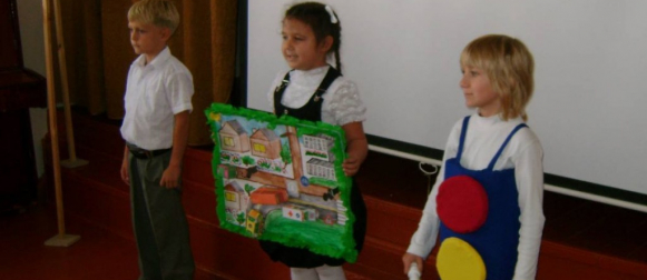 В Канске для первоклассников проходит акция «Безопасный путь в школу»