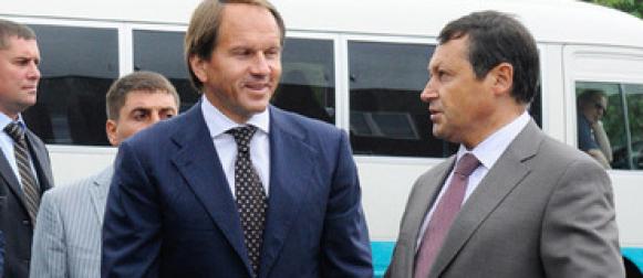Лев Кузнецов и Эдхам Акбулатов открыли в Красноярске новый детский сад