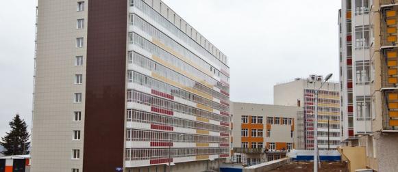 В СФУ открыли новый комплекс общежитий