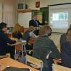 Ученики трёх школ Ачинска провели урок информатики с участием мэра, чиновников и профессоров