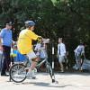 Канские школьники стали участниками велоэстафеты «Двигайся по правилам!»