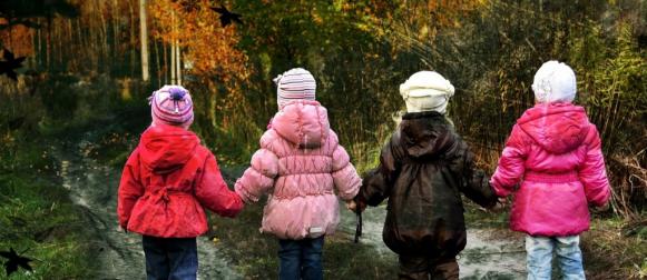 Около ста красноярских школьников посвятили в защитники леса