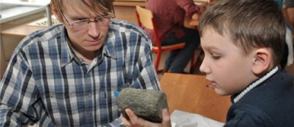 В музее геологии Центральной Сибири презентовали уникальный образовательный проект «Занимательная геология»