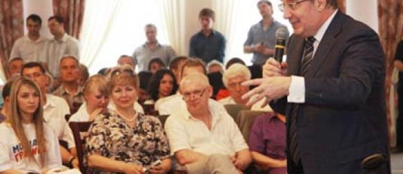 Виктор Толоконский обсудил с руководителями частных детских садов вопросы развития дошкольного образования