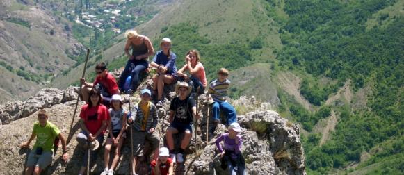 Канские школьники совершили сложный поход по хребту Ергаки