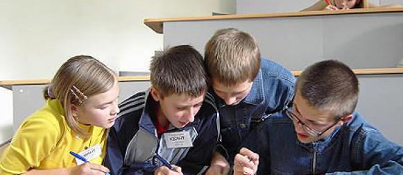 Школьники Канска стали участниками географической игры «Лабиринты знаний»