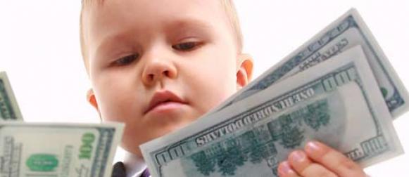 Как обучить малыша обращаться с деньгами?