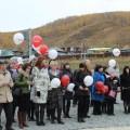 открытие школы в Заледеево